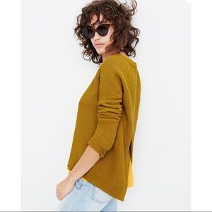 Madewell Province Cross-Back Pullover Sweater!